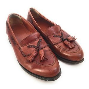 Johnston & Murphy Brown Leather Loafers 8.5E